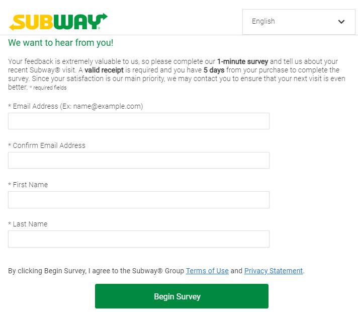 subwaylistens survey page